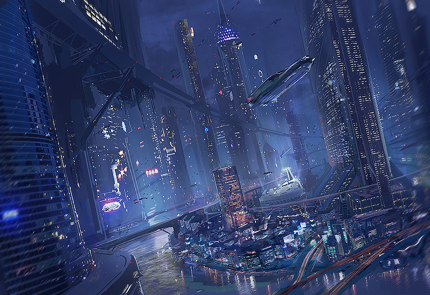 Future city. Source: http://fav.me/d3jcl5u